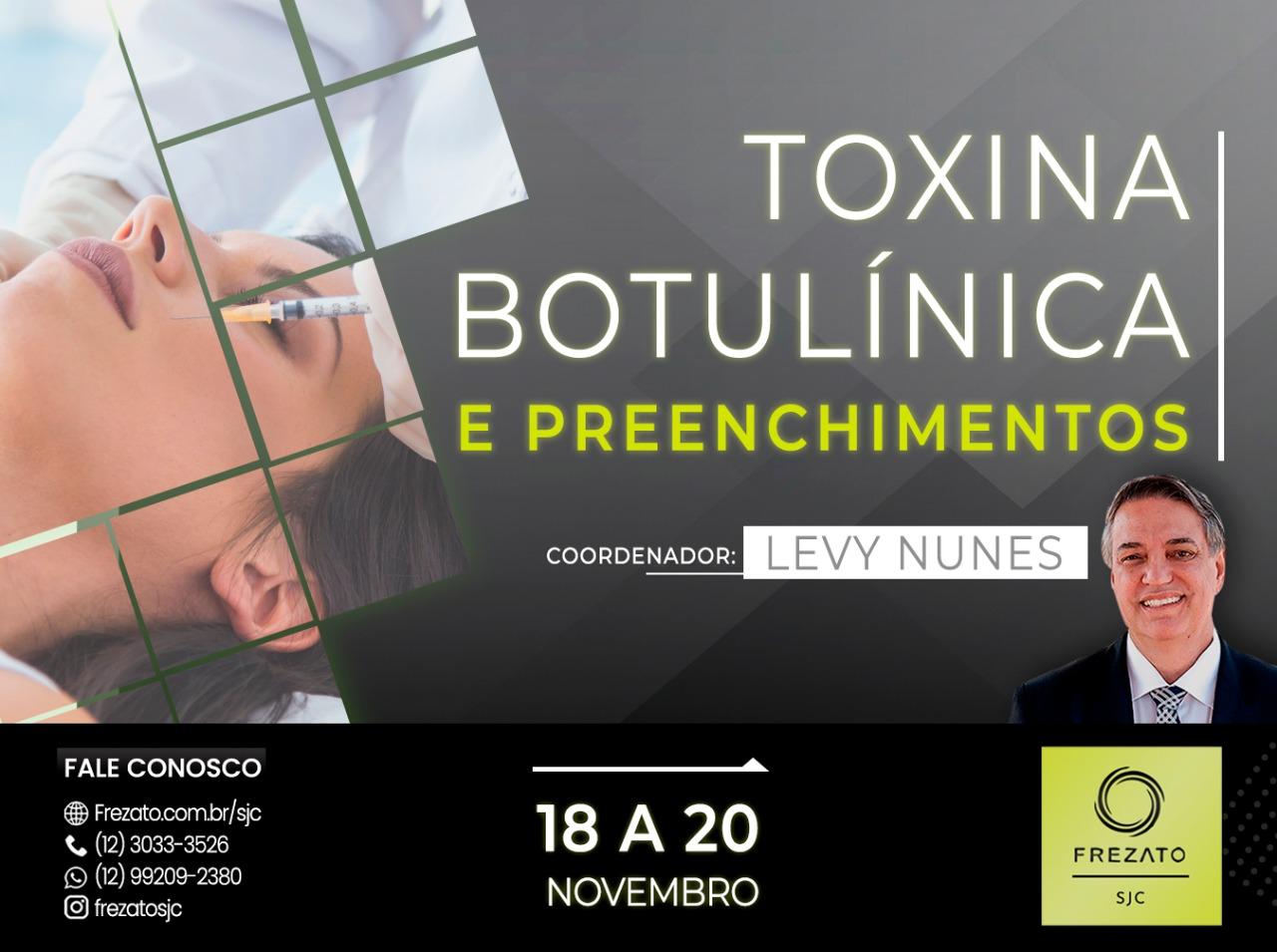 Curso Master em Toxina Botulinica Funcional e Preenchimentos Oromandibulares