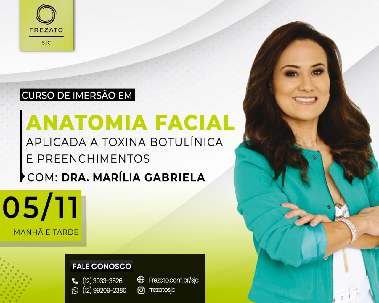 Anatomia Facial aplicada a Toxina Botulínica e Preenchedores.